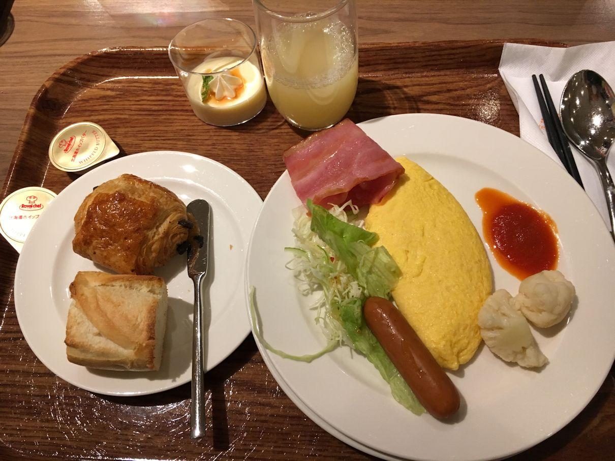 セントラーザホテル朝食