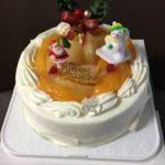 長崎名物「梅月堂のシースクリーム」をクリスマスケーキとして食べたよ