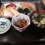 滑石のたき川でお得な寿司ランチ