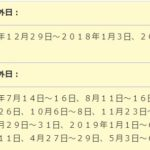 JR九州の株主優待券が到着2018