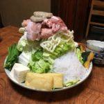 長与の花乃貴でちゃんこ鍋を食べた