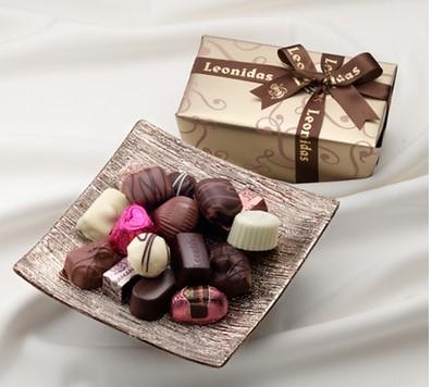 レオニダスのチョコ
