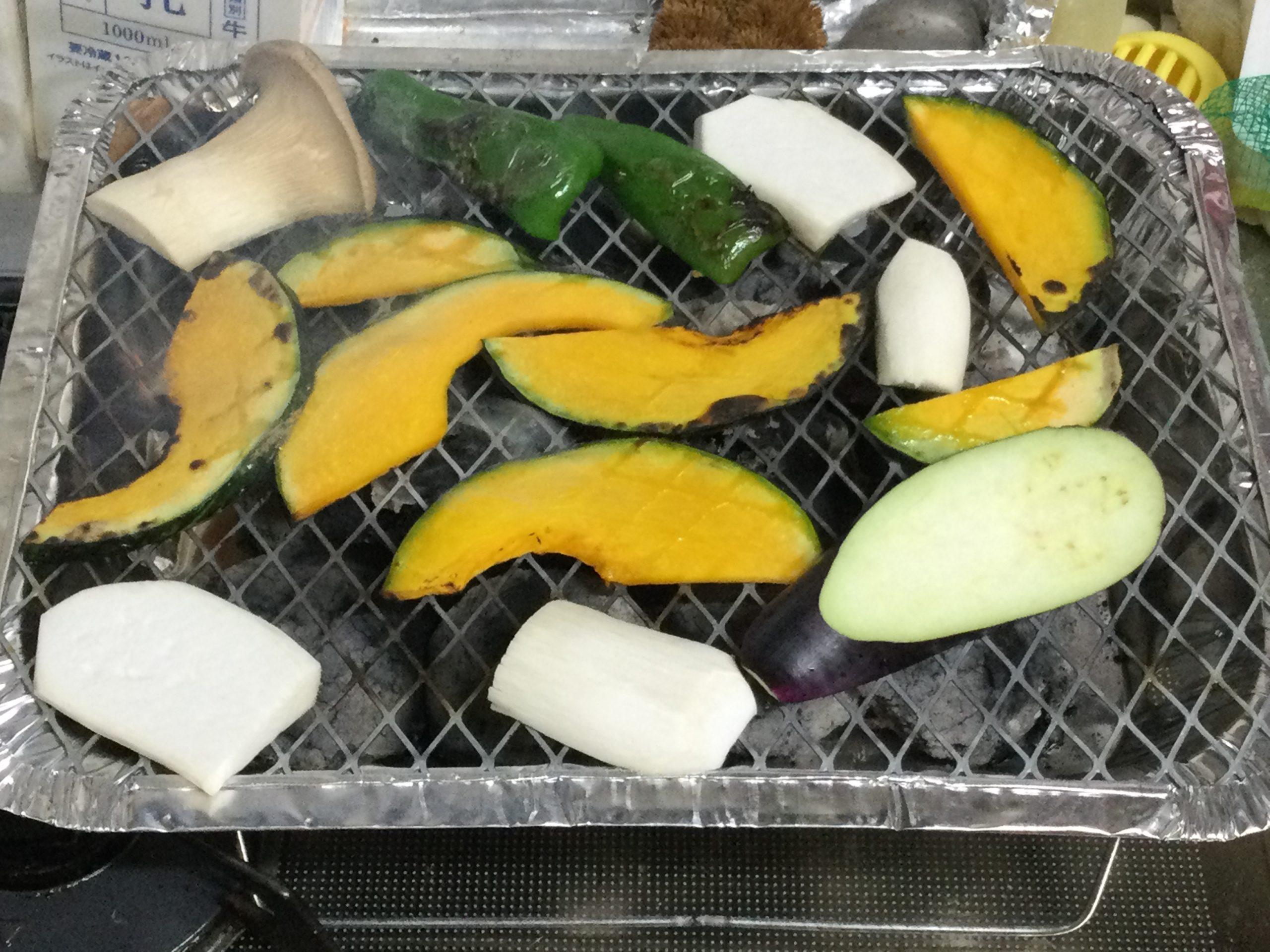 ダイソーバーベキュー生野菜