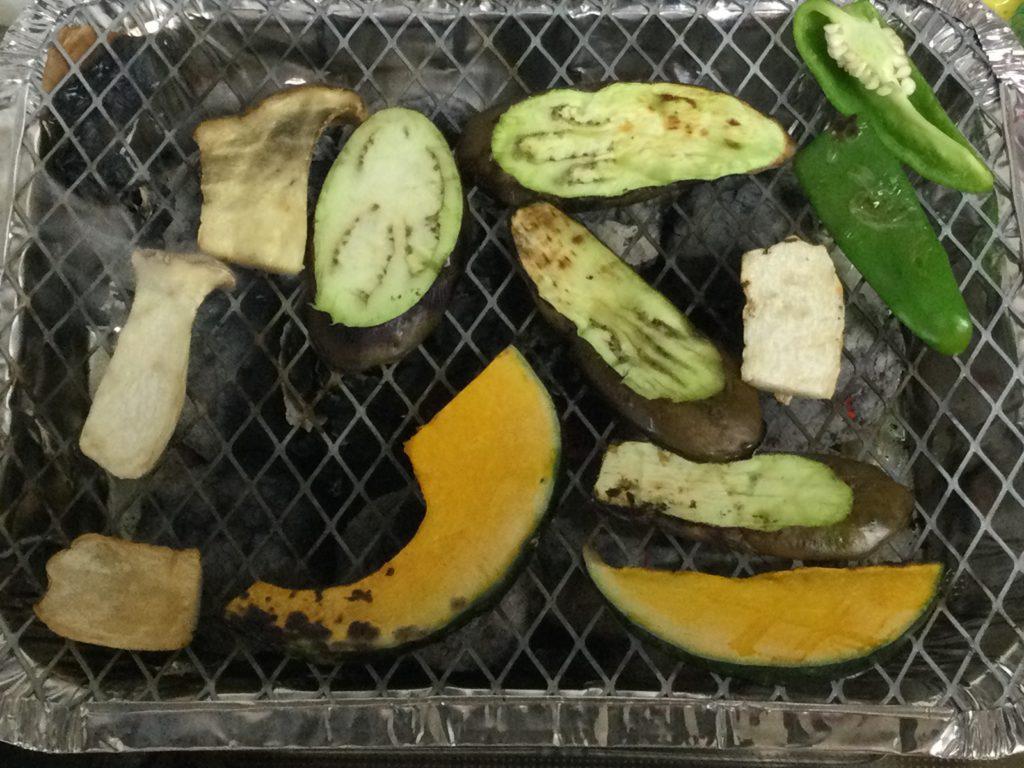 ダイソーバーベキュー野菜